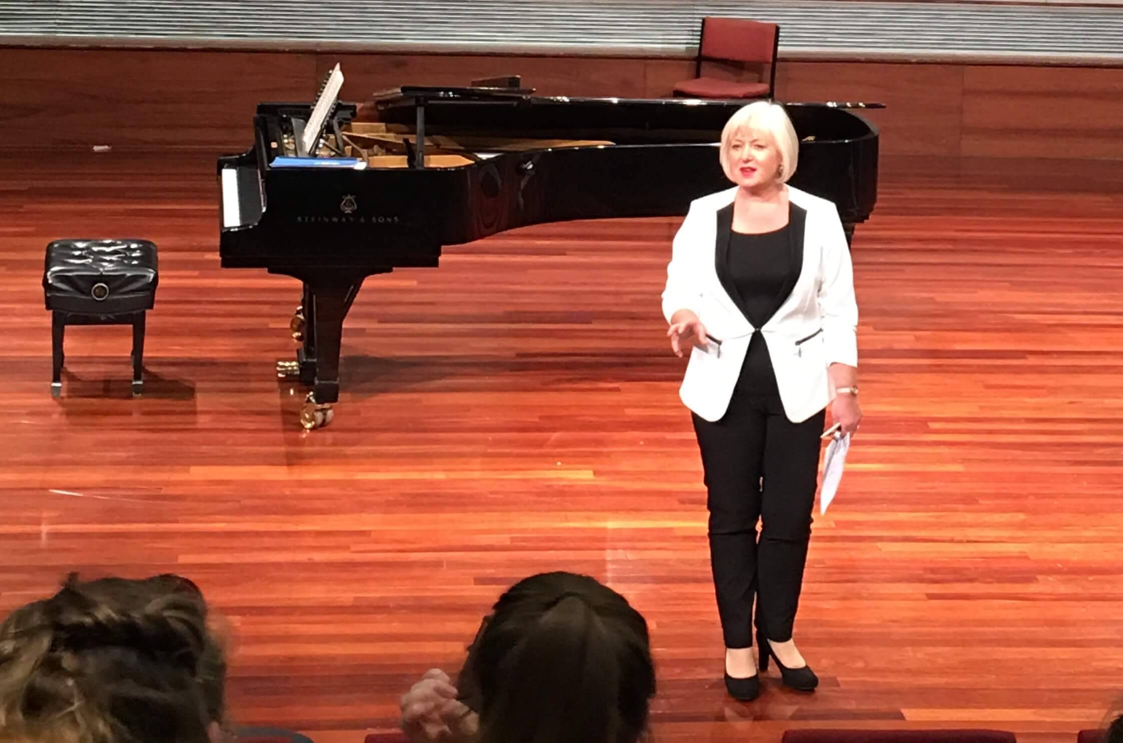 Kathleen McKellar-Ferguson, RCS lecturer in Vocal Performance