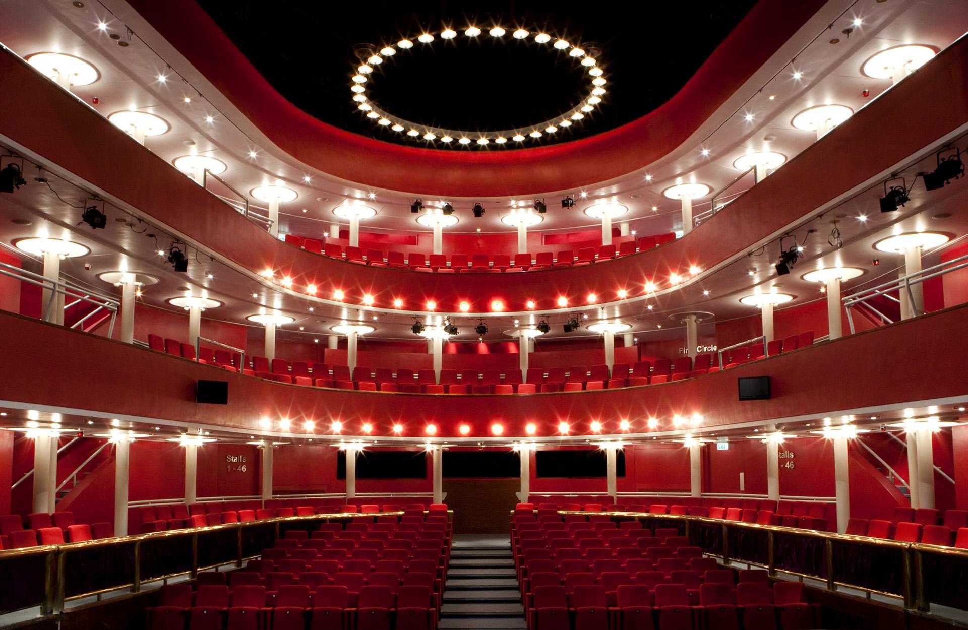 Interior of the New Athenaeum Theatre