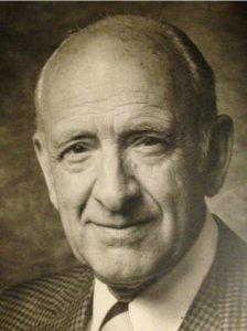 George Gibson, the Edinburgh-born scenic artist who was at the helm of MGM's scenic art department