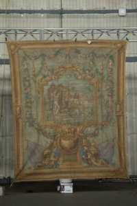 Image of a backdrop set piece from Marie Antoinette