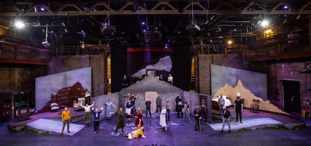 Cast, crew & set pieces from The Assumption