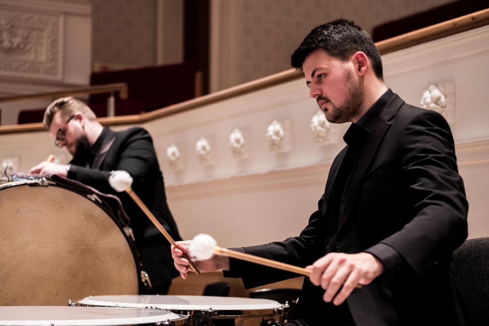 BMus Timpani and Percussion Image