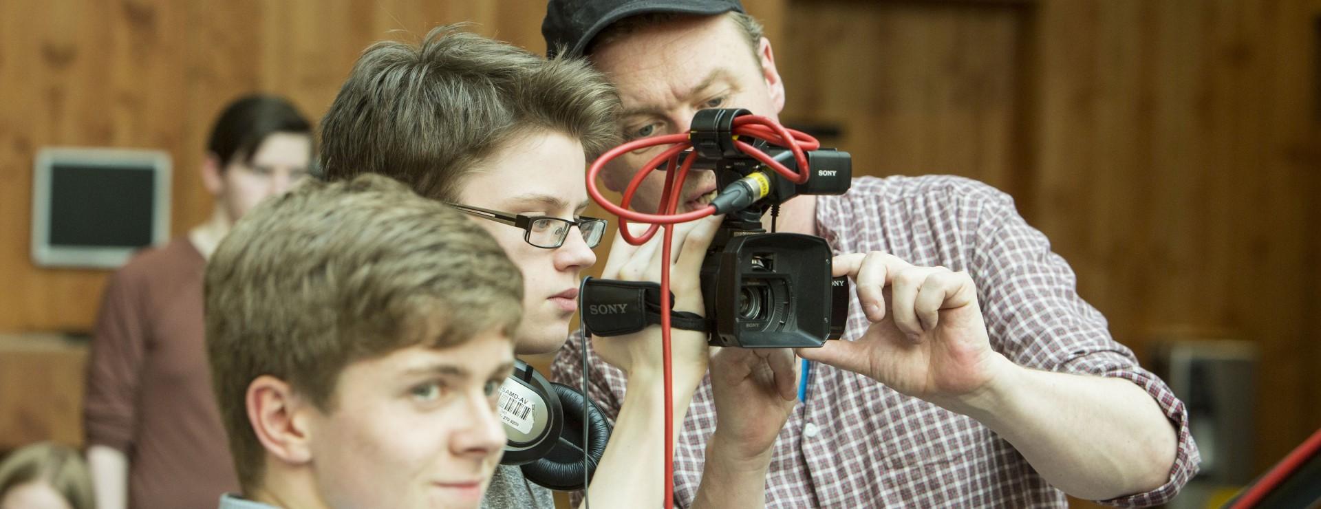 Shoot a Film Scene Image