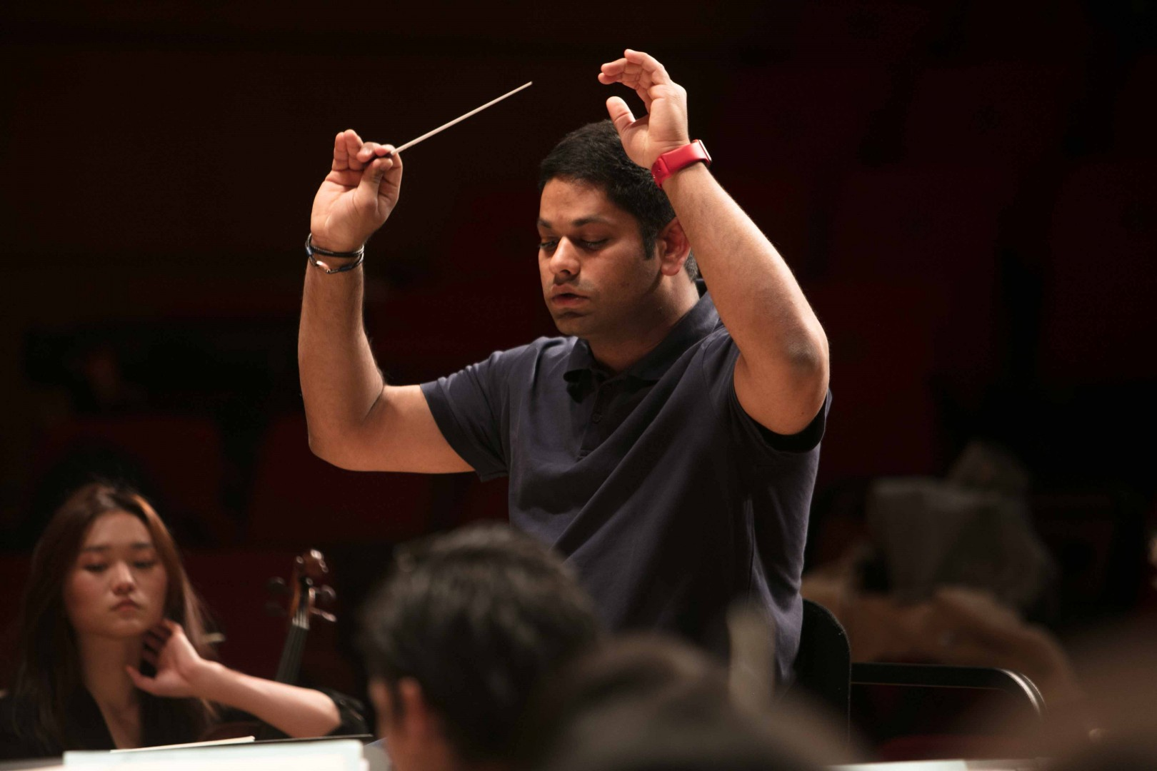 Alpesh Chauhan on the RCS Symphony Orchestra Image