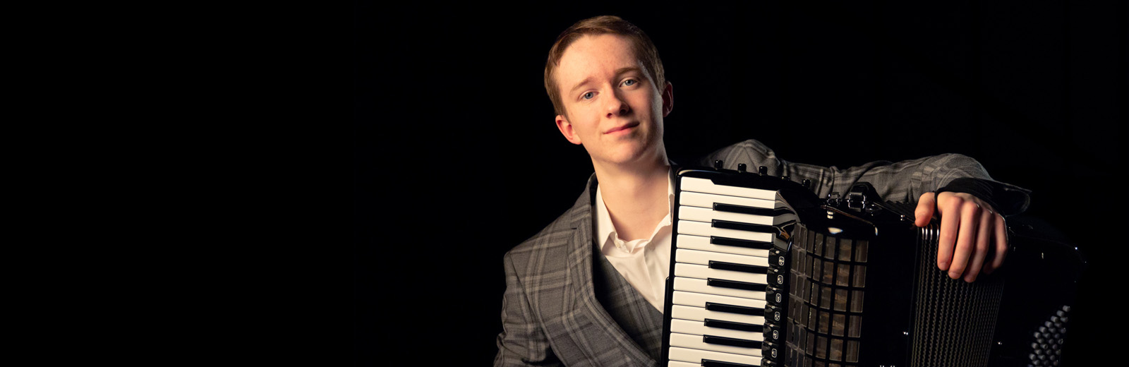 Junior Conservatoire accordionist makes history with podium place at global music contest Image
