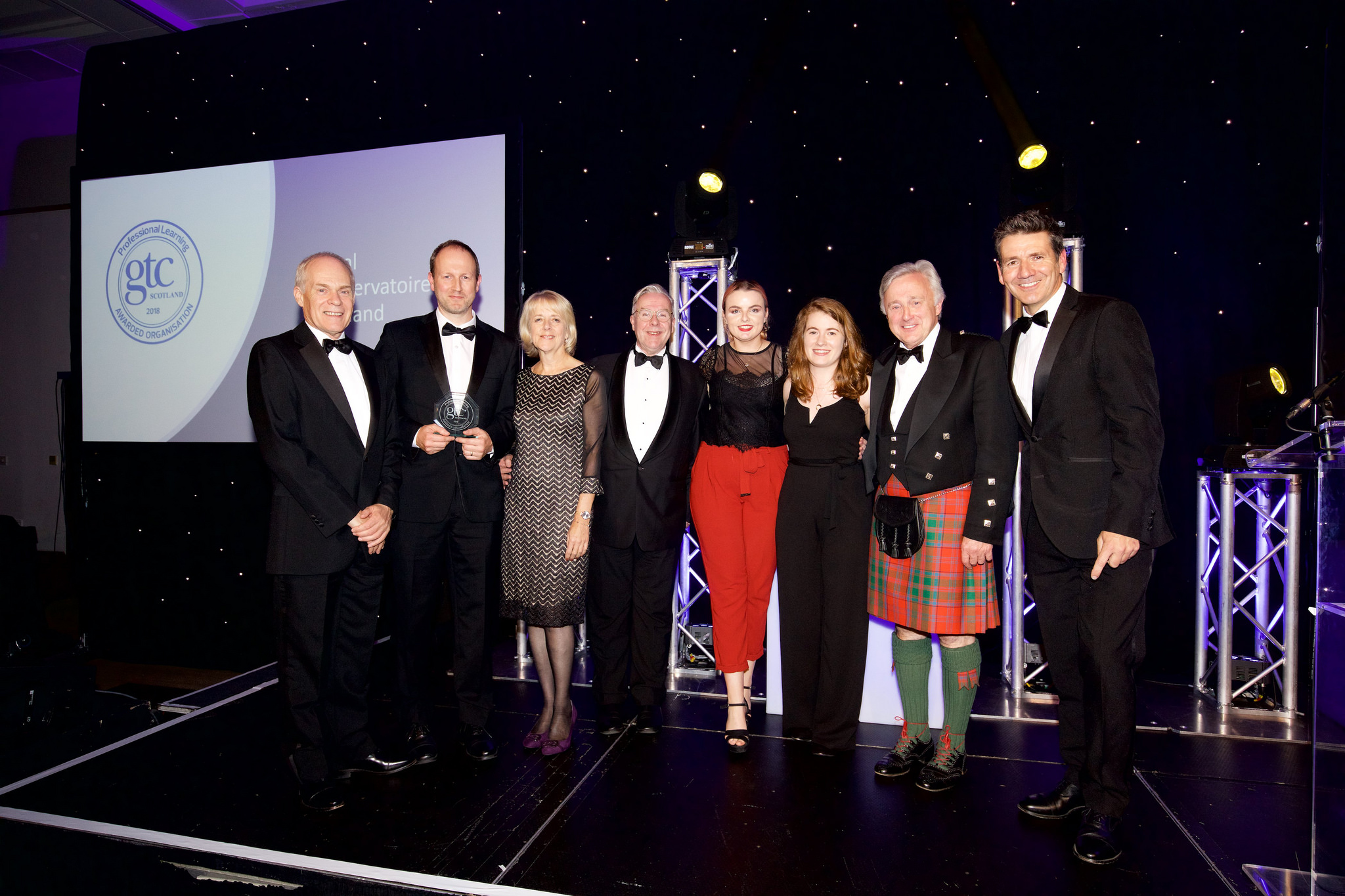 Royal Conservatoire of Scotland receives prestigious professional learning award Image
