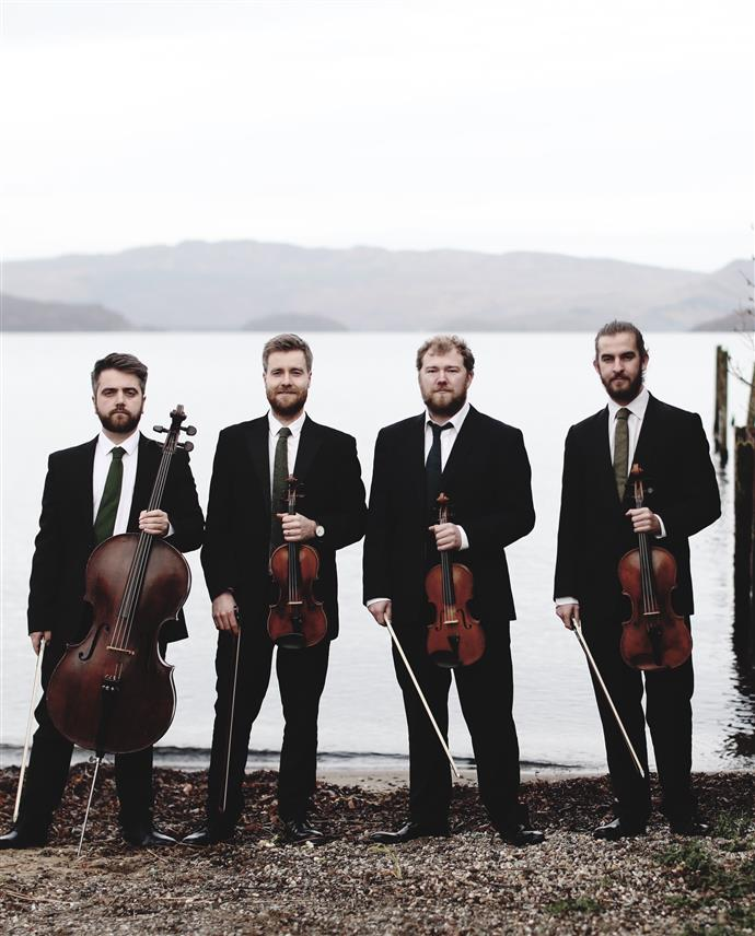 Hilary Rosin Coffee Concert: Cello Festival - Maxwell Quartet with Philip Higham Image