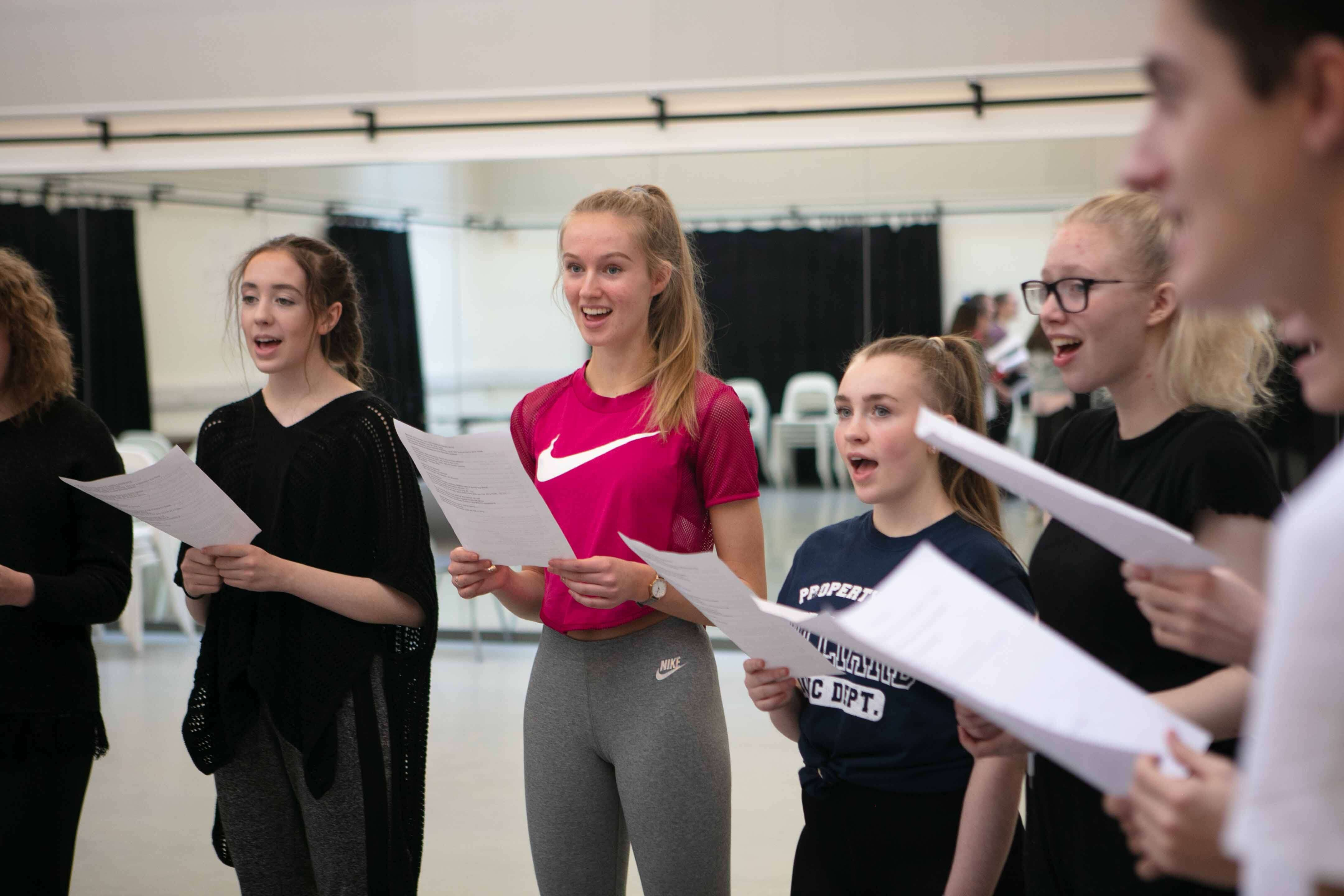 Young Musical Theatre Company Image