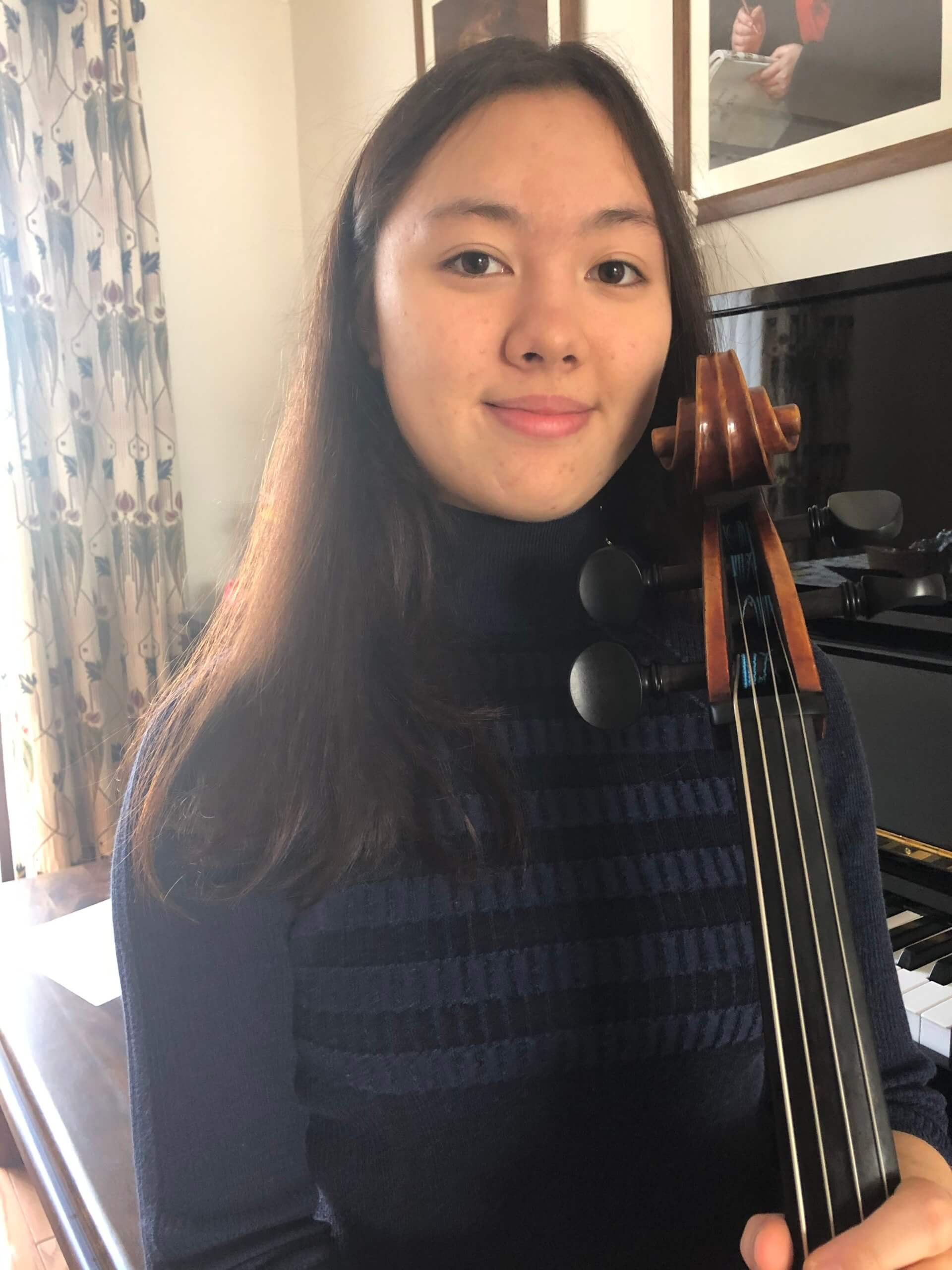 Junior Conservatoire of Music student Emily Brockett