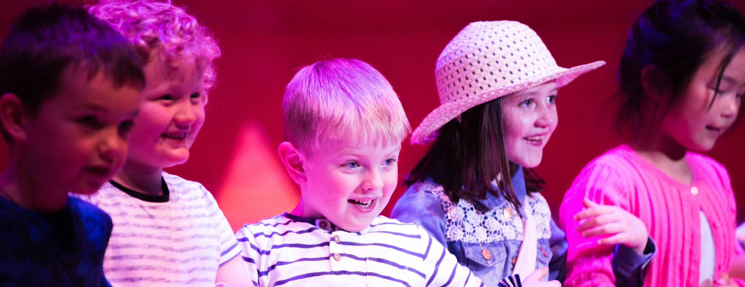 Drama for ages 3 - 4 (online course) Image