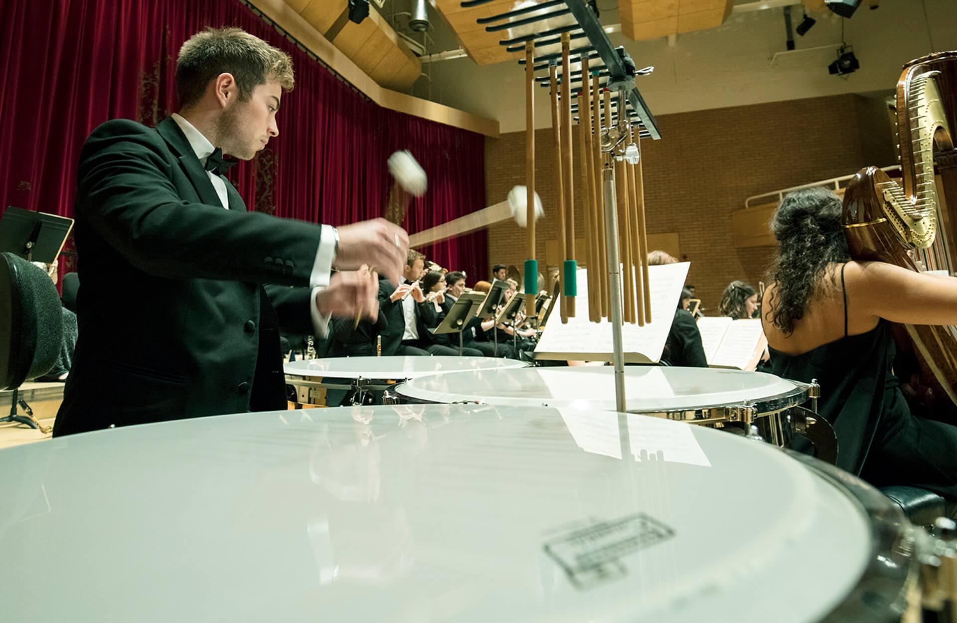 MMus / MA Timpani and Percussion Image