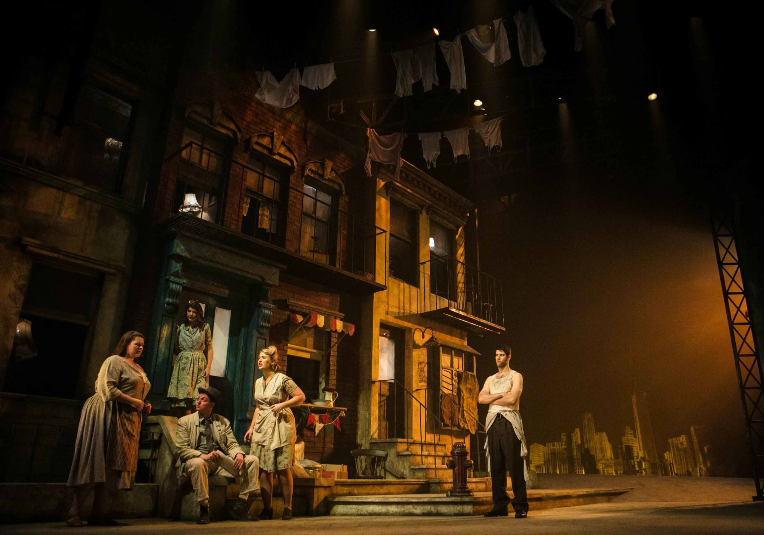RCS stages Broadway opera Street with its impressive set.