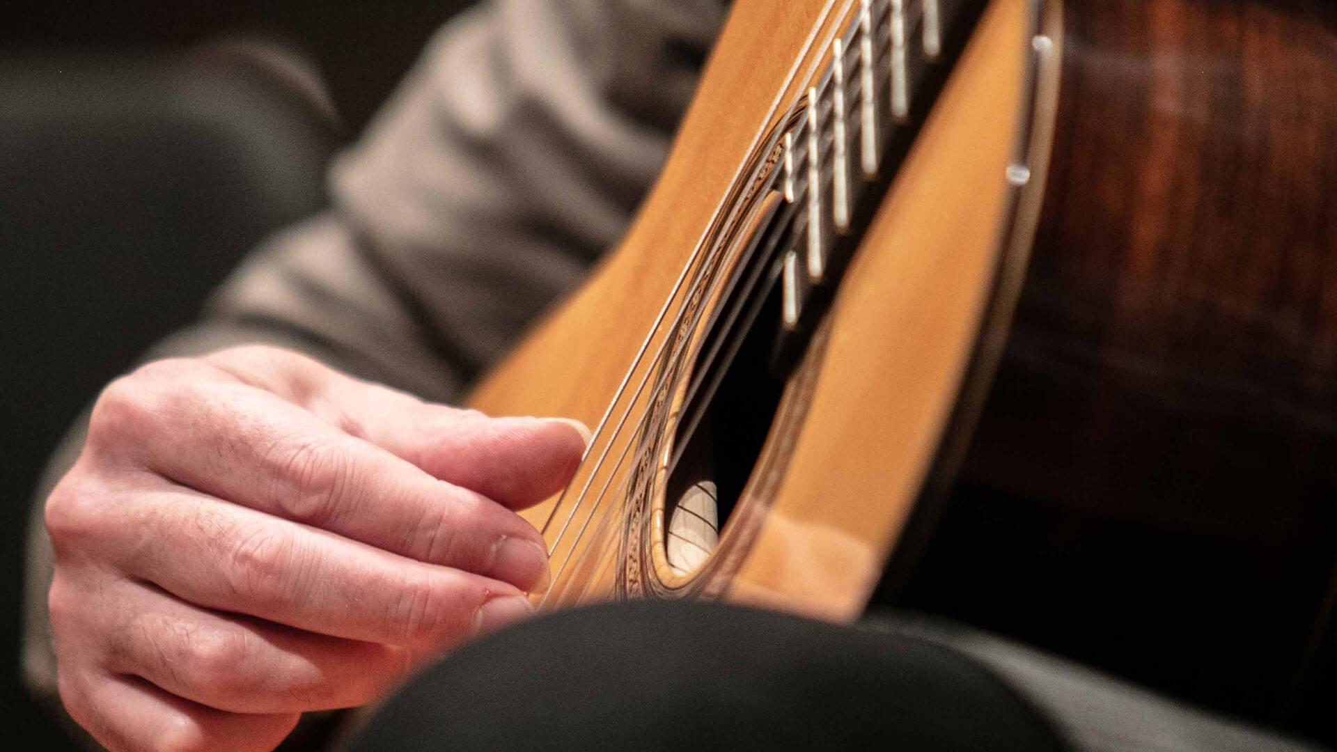 MMus Guitar and Harp Image