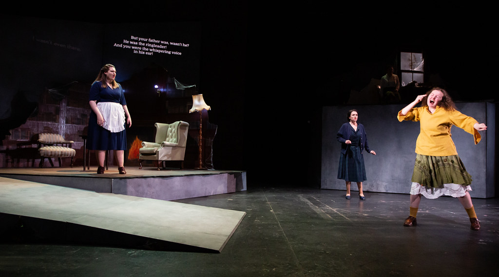 BA Performance in British Sign Language and English students stage The Assumption, a new play by Douglas Maxwell