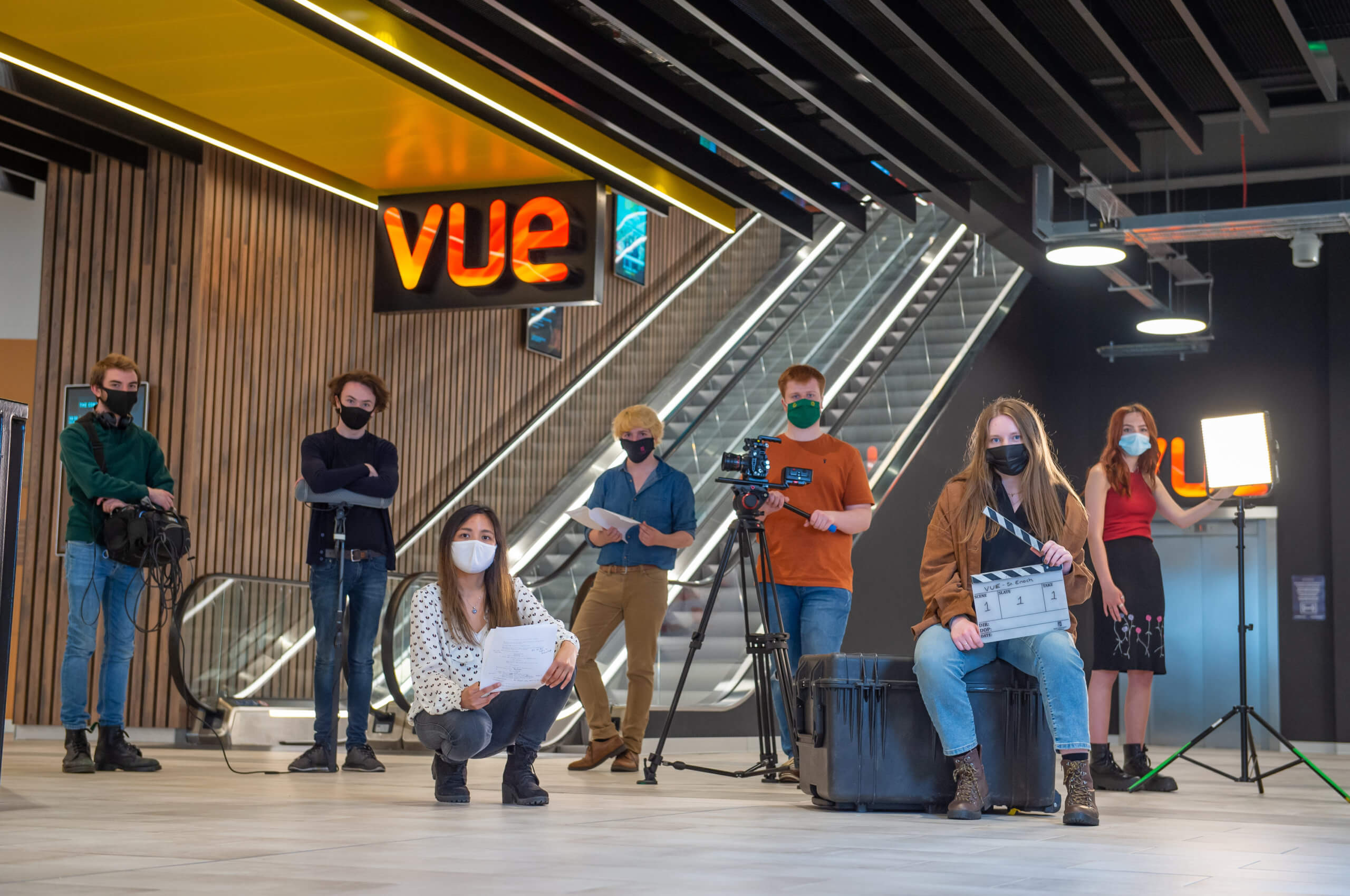 Film students at RCS will be able to watch their short films on the big screen as part of a partnership with Vue Glasgow St Enoch.