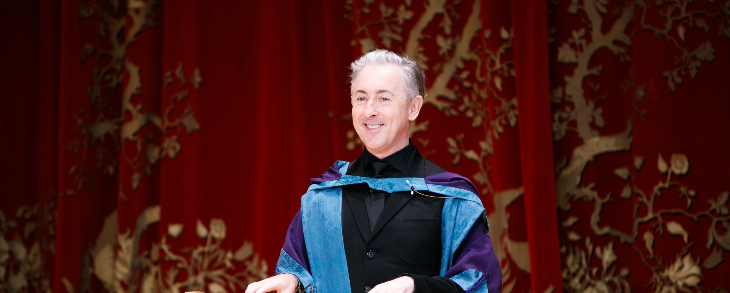 Award-winning actor, author and activist Alan Cumming returns to RCS to receive honorary doctorate Image