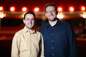 Jonathan O'Neill and Isaac Savage are the recipients of the Bruce Millar Graduate Fellowship